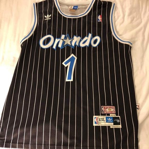 100% authentic cd4f1 a1f30 Tracy McGrady Orlando Magic Jersey